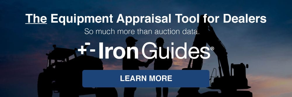 The Equipment Appraisal Tool for Dealers.
