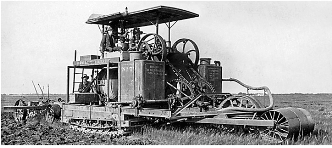 Bulldozed | The Original Caterpillar Tractor