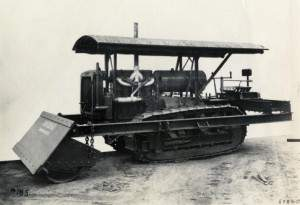 Bulldozed | The first bulldozer to be manufactured and built on a commercial basis